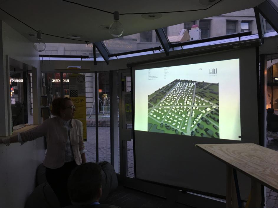 Vortragsslide zum Thema Verdichtung in Langenthal