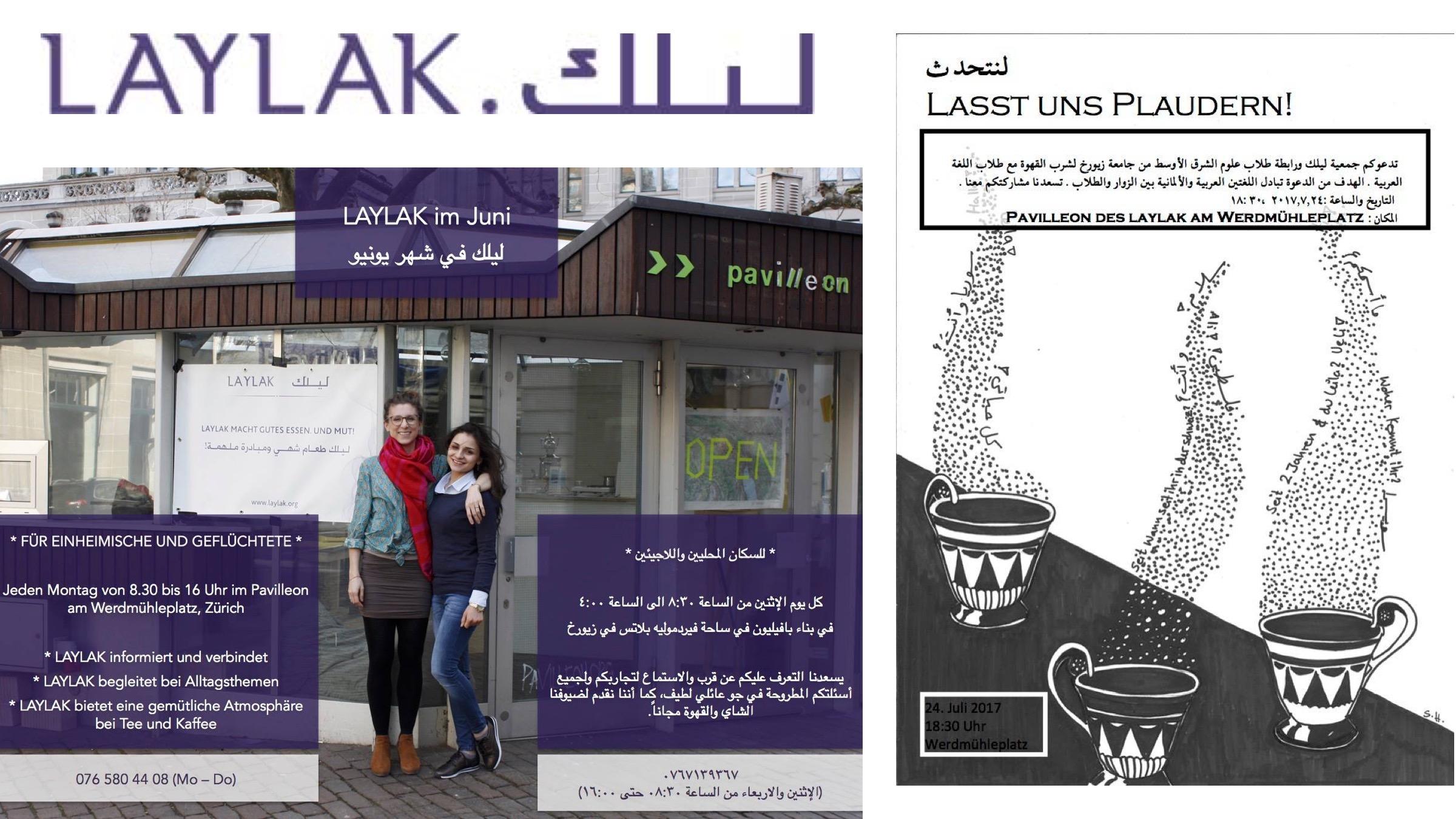 Laylak Infodesk für Geflüchtete