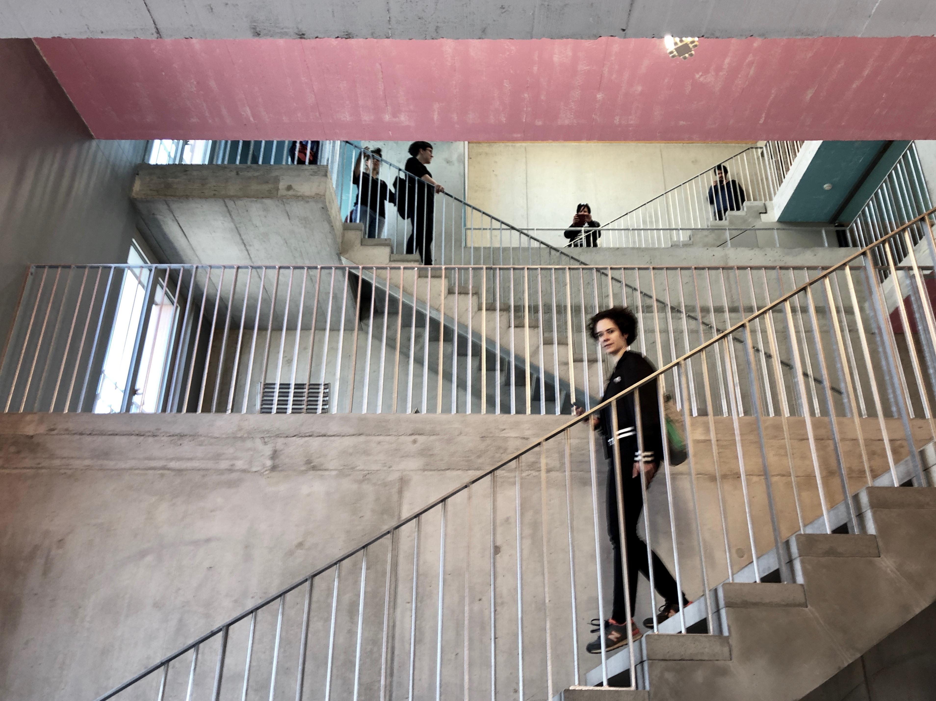 Goethe-Treppe in der WOKO Binz